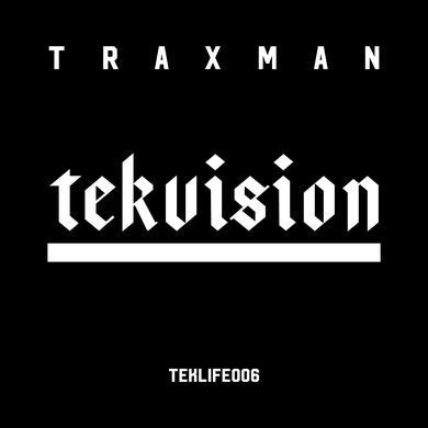 Traxman 'Tekvision' Vinyl LP Vinyl Record