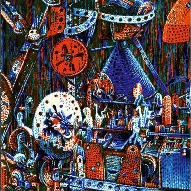 Pierre Bastien 'The Mecanoncentric Worlds of Pierre Bastien' Vinyl Record