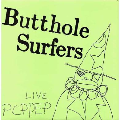 Butthole Surfers 'Live PCPPEP' Vinyl LP - White Vinyl Record
