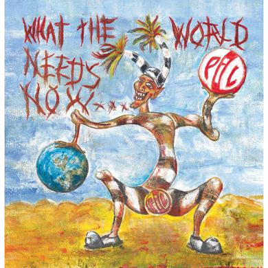 Public Image Ltd (PiL) 'What The World Needs Now...' Vinyl Record