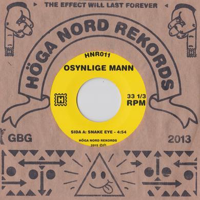 Osynlige Mann 'Snake Eye/Electrodes' Vinyl Record