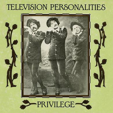 Television Personalities 'Privilege' Vinyl LP - White Marbled Vinyl Record
