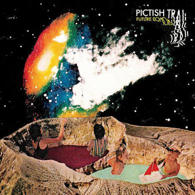 Pictish Trail 'Future Echoes' Vinyl 2xLP - Cosmic Coloured + Download Card Vinyl Record