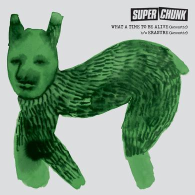 "Superchunk 'What a Time to Be Alive (Acoustic) / Erasure (Acoustic)' US RSD Vinyl 7"" - Clear Vinyl Record"