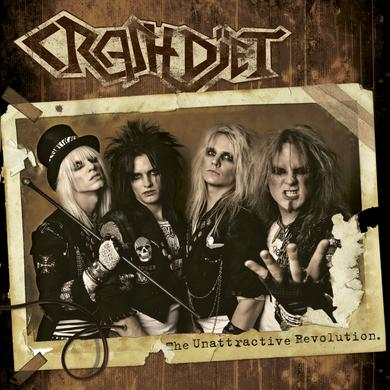 Crashdiet 'The Unattractive Revolution' 10th Anniversary Edition Vinyl LP - Red Vinyl Record