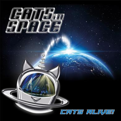 Cats In Space 'Cats Alive!' Vinyl Record