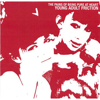 "The Pains Of Being Pure At Heart ‎'Young Adult Friction' Vinyl 7"" - Maroon Vinyl Record"