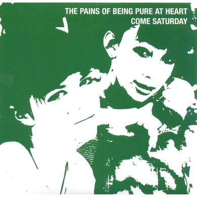 "The Pains Of Being Pure At Heart ‎'Come Saturday' Vinyl 7"" - Green Vinyl Record"