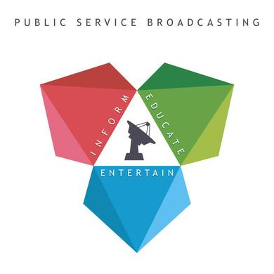 Public Service Broadcasting 'Inform Educate Entertain' Vinyl Record