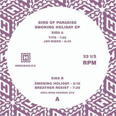 "Bird Of Paradise 'Smoking Holiday EP' Vinyl 12"" Vinyl Record"