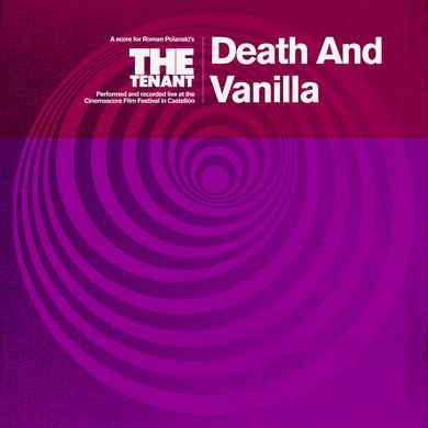 Death And Vanilla 'The Tenant' Vinyl LP - Magenta Vinyl Record