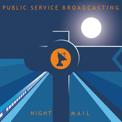 "Public Service Broadcasting 'Night Mail 12""' Vinyl Record"