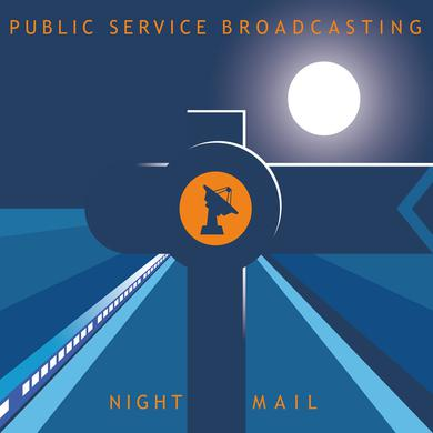 "Public Service Broadcasting 'Night Mail 12""' Vinyl Record"