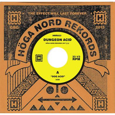 "Dungeon Acid 'Dog Acid/Sex Beat' Vinyl 7"" Vinyl Record"