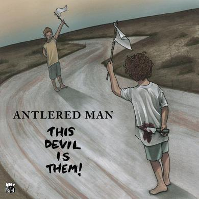 Antlered Man 'This Devil Is Them' Vinyl Record