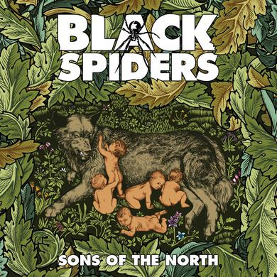 Black Spiders 'Sons Of The North' Vinyl Record