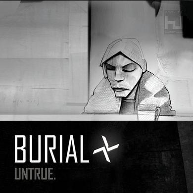 Burial 'Untrue' Vinyl Record