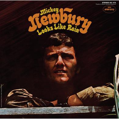 Mickey Newbury 'Looks Like Rain' Vinyl Record