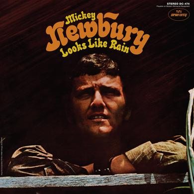 Mickey Newbury 'Looks Like Rain' Vinyl Record