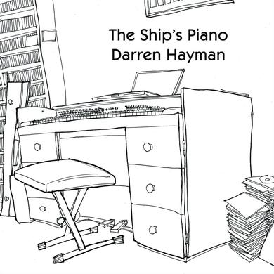 Darren Hayman 'The Ship`s Piano' Vinyl Record