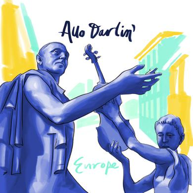 Allo Darlin 'Europe Single' Vinyl Record