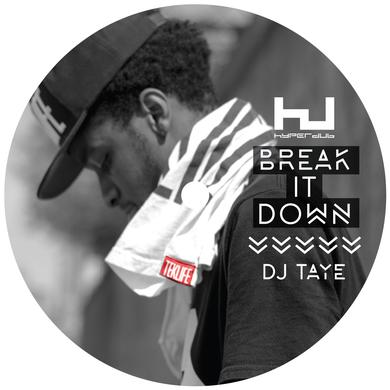 DJ Taye 'Break It Down EP' Vinyl Record