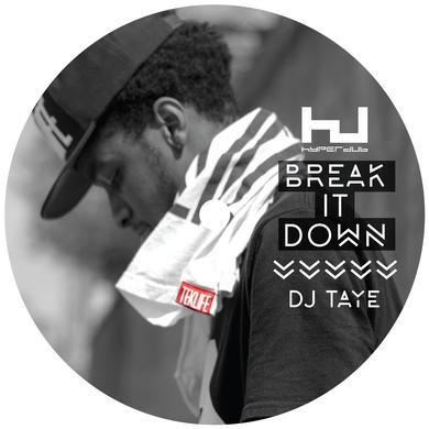DJ Taye 'Break It Down EP' Vinyl Record