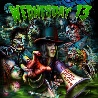 Wednesday 13 'Calling All Corpses' Vinyl Record