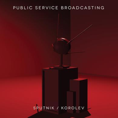 Public Service Broadcasting 'Sputnik / Korolev' Vinyl Record