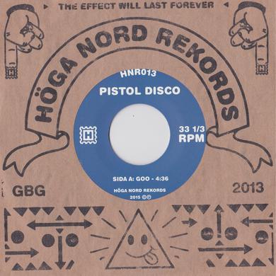 "Pistol Disco 'Goo/Pool' Vinyl 7"" Vinyl Record"