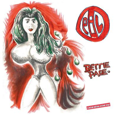 Public Image Limited (PiL) 'Bettie Page' Vinyl Record