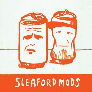 "Sleaford Mods 'Mr Jolly Fucker / Tweet Tweet Tweet' - Orange 7"" Vinyl Record"