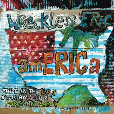 Wreckless Eric 'amERICa' Vinyl Record