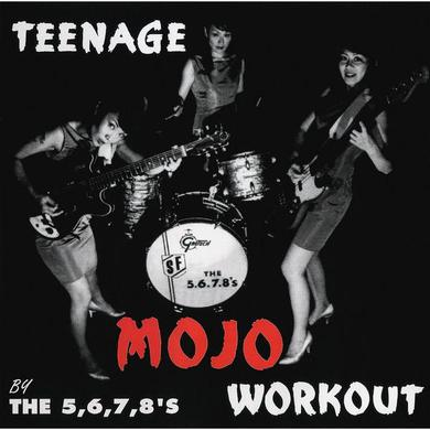 5.6.7.8's 'Teenage Mojo Workout' CD Vinyl Record