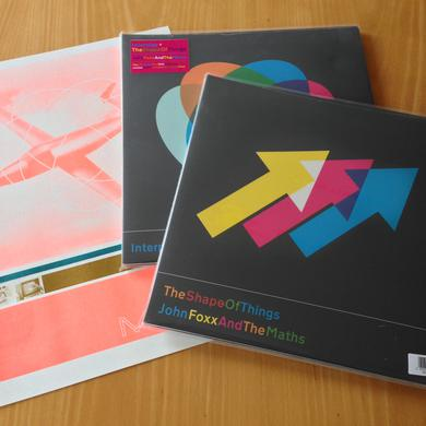 John Foxx & The Maths 'Interplay/The Shape Of Things' Vinyl Record