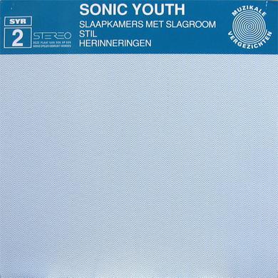 Sonic Youth 'Slaapkamers Met Slagroom' Vinyl Record