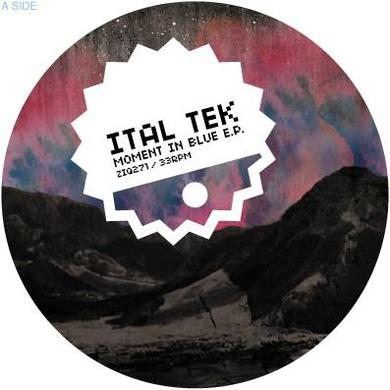 Ital Tek 'Moment In Blue' Vinyl Record