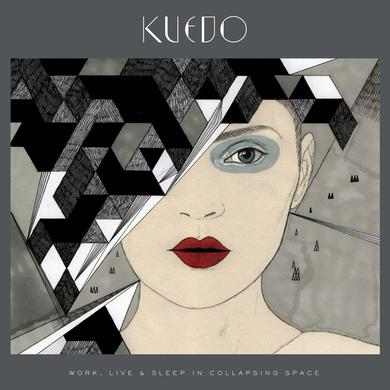 Kuedo 'Work, Live & Sleep In Collapsing Space' Vinyl Record