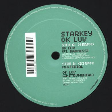 Starkey 'Ok Luv' Vinyl Record