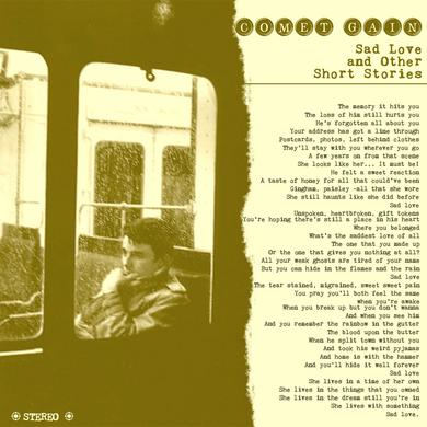 Comet Gain 'Sad Love And Other Short Stories' Vinyl Record