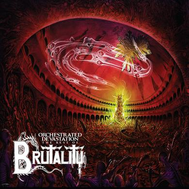 Brutality 'Orchestrated Devastation : The Best Of' Vinyl Record