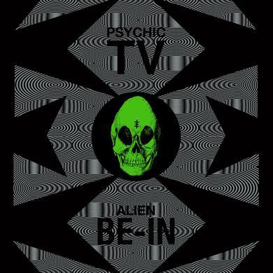 Psychic TV 'Alien Be-In Remix EP' Vinyl Record