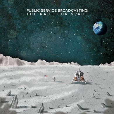 Public Service Broadcasting 'The Race For Space' Vinyl Record