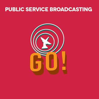 Public Service Broadcasting 'Go!' Vinyl Record