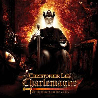Christopher Lee 'Charlemagne: By The Sword & The Cross' Vinyl LP - Gold Vinyl Record