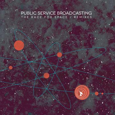 Public Service Broadcasting 'The Race For Space / Remixes' Vinyl Record