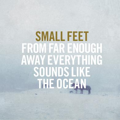 Small Feet 'From Far Enough Away Everything Sounds Like The Ocean' Vinyl Record