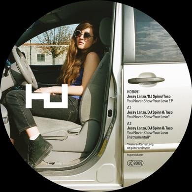Jessy Lanza DJ Spinn & Taso 'You Never Show Your Love' Vinyl Record