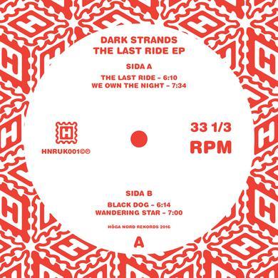 "Dark Strands 'The Last Ride EP' Vinyl 12"" Vinyl Record"