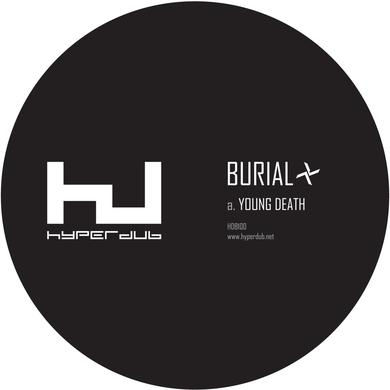 "Burial 'Young Death / Nightmarket' Vinyl 12"" Vinyl Record"